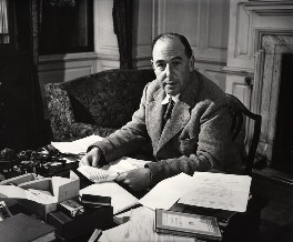 C.S. Lewis, by Arthur Strong - NPG x19828