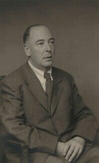 C.S. Lewis, by Walter Stoneman - NPG x45075