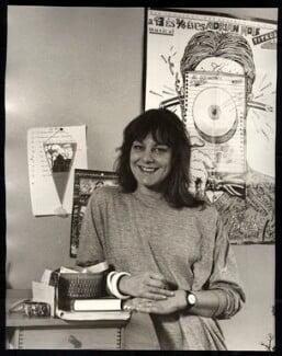 Sue Townsend, by Mark Gerson - NPG x47116