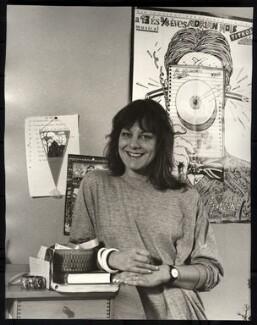 Sue Townsend, by Mark Gerson, 1988 - NPG x47116 - © Mark Gerson / National Portrait Gallery, London