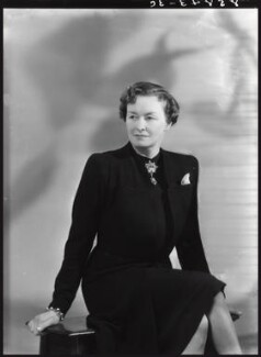 Enid Algerine Bagnold ('Lady Jones'), by Bassano Ltd, 22 May 1939 - NPG x16782 - © National Portrait Gallery, London