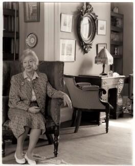 Nina Mary Bawden, by David Bennett - NPG x45968