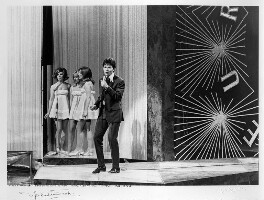 Sir Cliff Richard and 'The Breakaways' (Margo Quantrell; Vicki Haseman; Jean Ryder (later Hawker, later Westwood), by Michael Ward - NPG x88840