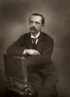 J.M. Barrie, by Herbert Rose Barraud - NPG x5161