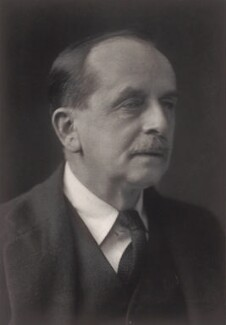 J.M. Barrie, by Walter Stoneman - NPG x21918