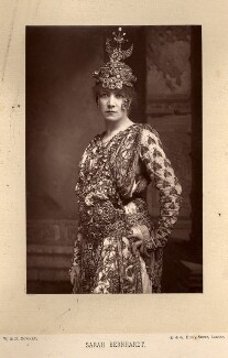 Sarah Bernhardt as Théodora in Sardou's play 'Théodora', by W. & D. Downey, published by  Cassell & Company, Ltd - NPG x5682