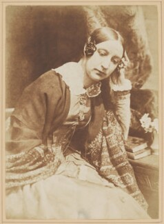 Elizabeth (née Rigby), Lady Eastlake, by David Octavius Hill, and  Robert Adamson - NPG x27670