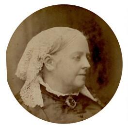 Dinah Maria Craik (née Mulock), by Hayman Seleg Mendelssohn - NPG x19024