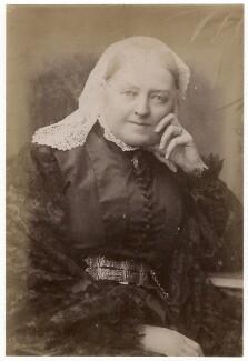 Dinah Maria Craik (née Mulock), by Hayman Seleg Mendelssohn - NPG x9056