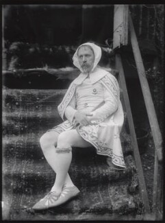 Walter Crane as Cimabue, by Sir Emery Walker, 1897? - NPG x19678 - © National Portrait Gallery, London