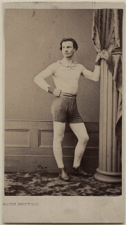 Unknown athlete, by Mayer Brothers - NPG Ax47095