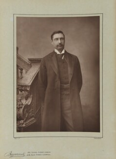 Sir (Henry) Rider Haggard, by Herbert Rose Barraud, published by  Eglington & Co - NPG Ax5491