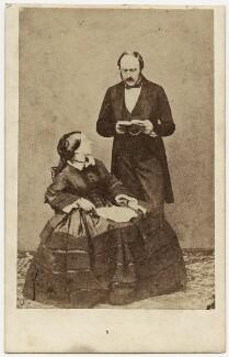 Queen Victoria; Prince Albert of Saxe-Coburg-Gotha, by John Jabez Edwin Mayall - NPG x26103