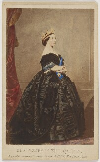 Queen Victoria, by Charles Clifford, published by  Cundall, Downes & Co - NPG x36265