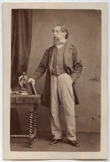 Charles Dickens, by John & Charles Watkins - NPG Ax16251