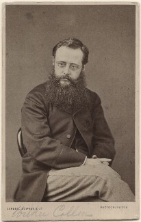 Wilkie Collins, by Cundall, Downes & Co, 1860-1865 - NPG Ax16234 - © National Portrait Gallery, London