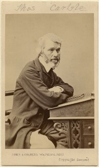Thomas Carlyle, by John & Charles Watkins - NPG Ax5086