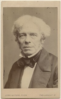 Michael Faraday, by John Watkins - NPG Ax16267