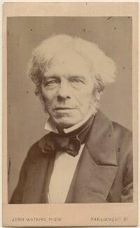 Michael Faraday, by John Watkins, 1860s - NPG  - © National Portrait Gallery, London