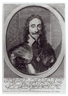 King Charles I, by William Faithorne, published by  John Overton, after  Sir Anthony van Dyck - NPG D22676