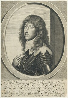 Prince Rupert, Count Palatine, by William Faithorne, published by  Thomas Hinde, after  Sir Anthony van Dyck, published circa 1643-1652 - NPG D22925 - © National Portrait Gallery, London