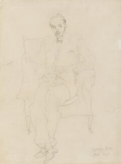 Clifford Bax, by Oriel Ross - NPG 6575