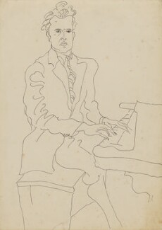 Constant Lambert, by Oriel Ross, 1930s - NPG 6576 - © reserved; collection National Portrait Gallery, London