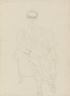 John Rothenstein, by Oriel Ross - NPG 6579