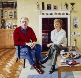 Neil Kinnock; Glenys Kinnock, by Andrew Tift, 2001 - NPG  - © National Portrait Gallery, London