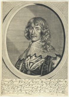 James Stuart, 1st Duke of Richmond and 4th Duke of Lennox, by William Faithorne, after  Sir Anthony van Dyck - NPG D22918