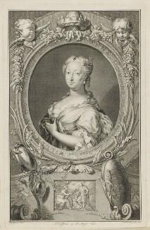 Anne, Princess Royal and Princess of Orange, by Jacobus Houbraken, after  Hendrik Pothoven - NPG D11087
