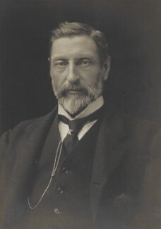 Sir (Henry) Rider Haggard, by James Russell & Sons - NPG Ax46115