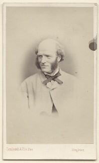 Thomas Hughes, by Lombardi & Fox, 1860s - NPG Ax39753 - © National Portrait Gallery, London