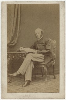 Thomas Hughes, by William Jeffrey, 1860s - NPG x11989 - © National Portrait Gallery, London