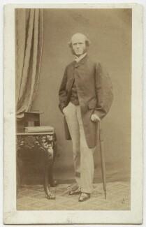 Thomas Hughes, by William Jeffrey, 1860s - NPG Ax7540 - © National Portrait Gallery, London