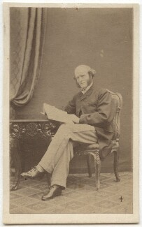 Thomas Hughes, by William Jeffrey, 1860s - NPG Ax8567 - © National Portrait Gallery, London