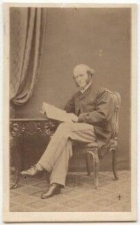 Thomas Hughes, by William Jeffrey, 1860s - NPG Ax8567 - © National Portrait Gallery, London