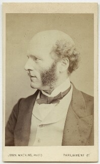 Thomas Hughes, by John Watkins, 1860s - NPG Ax17756 - © National Portrait Gallery, London
