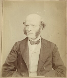 Thomas Hughes, by John Watkins, 1860s - NPG Ax21832 - © National Portrait Gallery, London