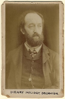Henry Holiday, by Unknown photographer - NPG x18530