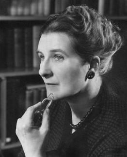 Stella Dorothea Gibbons (Mrs A.B. Webb), by Mark Gerson - NPG x13759