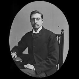Sir (Henry) Rider Haggard, by York & Son, after  Unknown photographer, 1890s (1880s) - NPG x3647 - © National Portrait Gallery, London