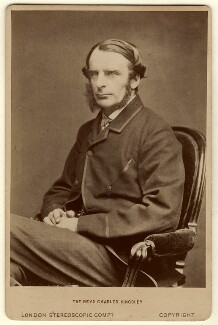 Charles Kingsley, by London Stereoscopic & Photographic Company - NPG x11877