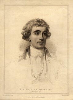 Sir William Jones, by William Evans, after  Arthur William Devis - NPG D11104
