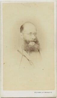 Edward Lear, by Schier & Schoefft, circa 1866-1867 - NPG x8360 - © National Portrait Gallery, London