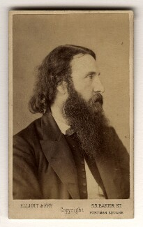 George MacDonald, by Elliott & Fry - NPG x13196