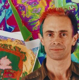 David Perret, by Louise Bobbé, 9 February 2001 - NPG x88881 - © National Portrait Gallery, London