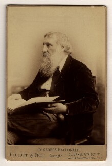 George MacDonald, by Elliott & Fry - NPG x13195