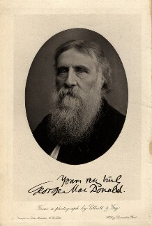 George MacDonald, by Elliott & Fry - NPG x27331