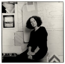Tess Jaray, by Nicholas Sinclair - NPG x77013